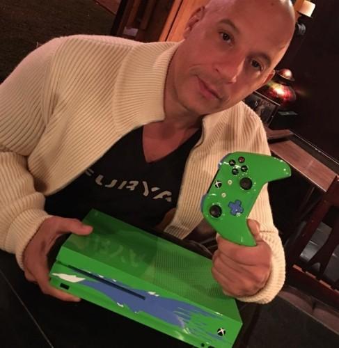 Microsoft creates custom Xbox One S in honor of Paul Walker