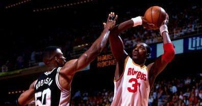 David Robinson was left on an island during the 1995 Western Conference Finals