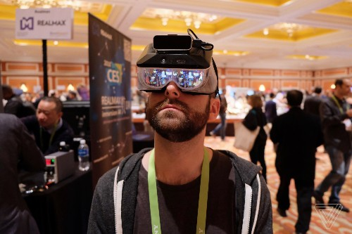 Realmax's prototype AR goggles fix one of the HoloLens' biggest issues