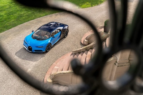 The unbelievable €2.4 million Bugatti Chiron in pictures