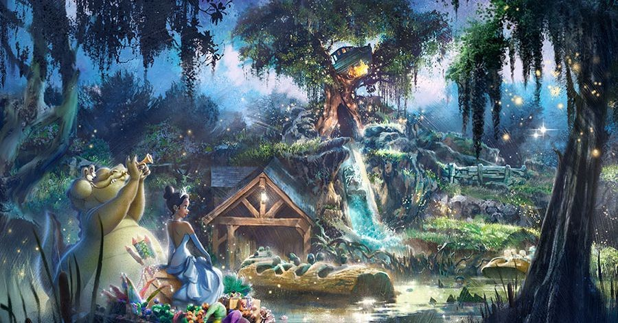 Splash Mountain reboot will trade Song of the South for Princess and the Frog theme