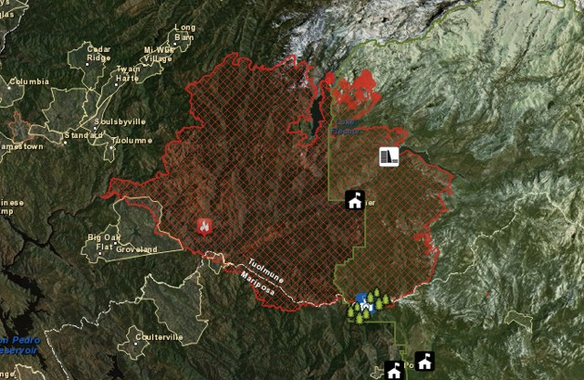 Fighting fire with data: how mapping tech helped beat back the Rim Fire