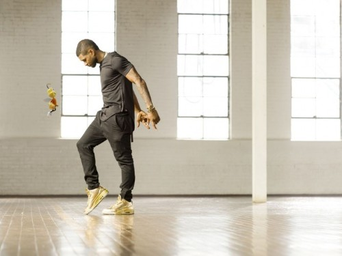 Usher's new song is available exclusively in... boxes of Honey Nut Cheerios from Walmart
