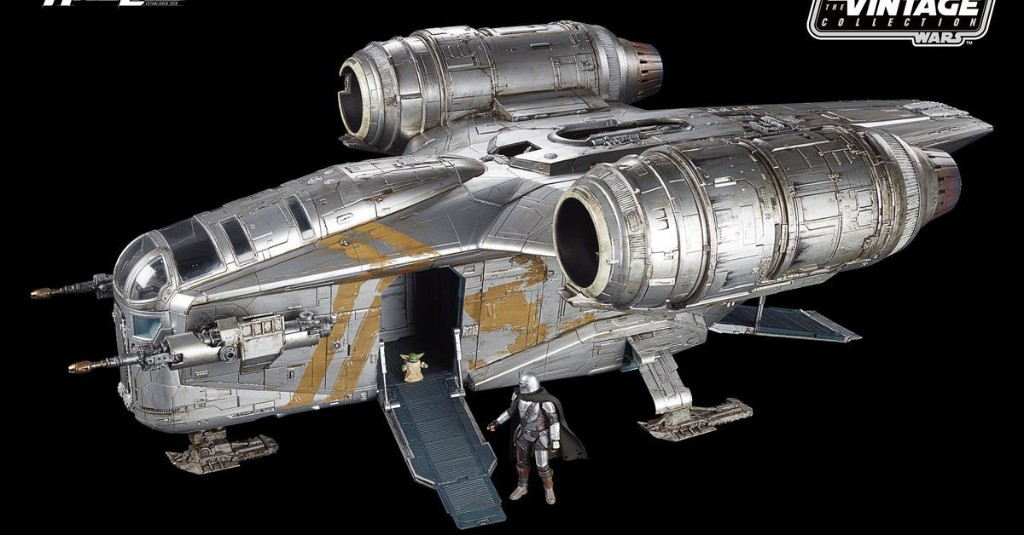 Behold The Mandalorian's Razor Crest in all its $350 toy spaceship glory