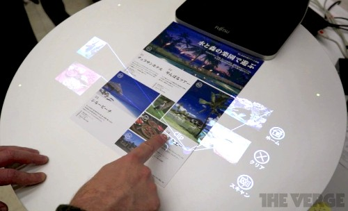 Fujitsu wants to replace your scanner with an interface out of 'Minority Report'