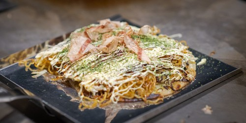 A Critic Thinks the Food at Chicago's First Okonomiyaki Restaurant Is 'Almost Perfect'