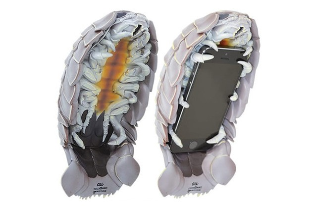 This creepy isopod case keeps your iPhone warm and strangers at bay