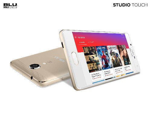 The Blu Studio Touch is a $99 burner with a fingerprint scanner