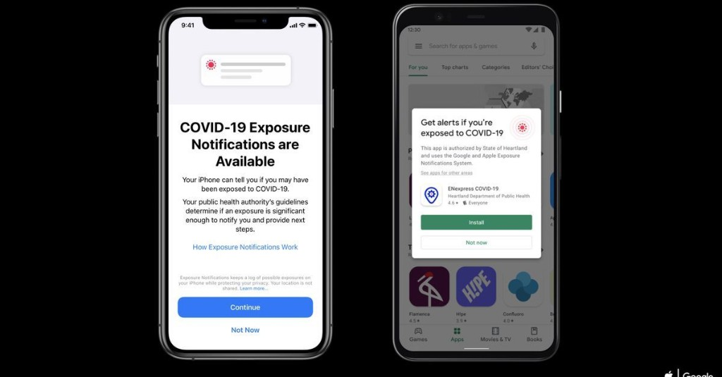 Apple and Google announce new automatic app system to track COVID exposures