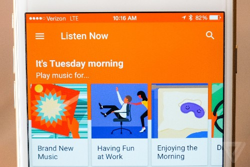 Google launches free music streaming ahead of Apple Music debut