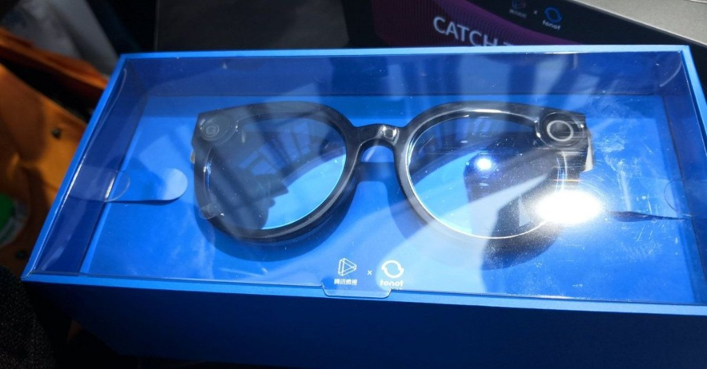 Tencent made smart glasses that look like Snap Spectacles