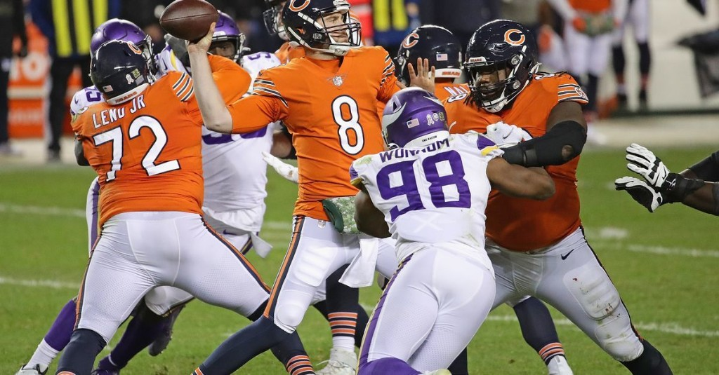 Grounded Bears' offense looking for post-bye spark