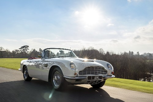 Aston Martin will make old cars electric so they don't get banned from cities