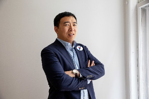 Andrew Yang is the candidate for the end of the world