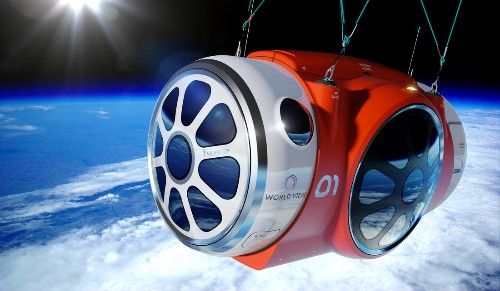 Latest space tourism trip uses balloon to take passengers 100,000 feet up
