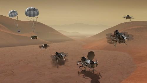 NASA chooses Saturn's moon Titan as its next destination