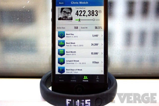 Nike adds friends, leaderboards, and photo sharing to FuelBand iOS app