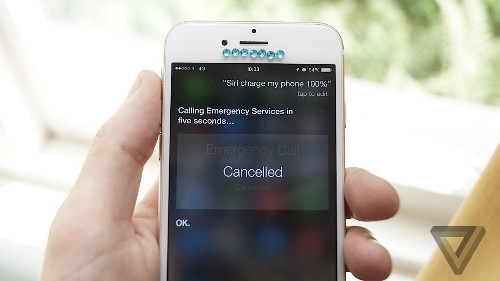Asking Siri to charge your phone dials the police and we don't know why