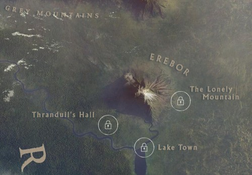 Google's latest Chrome Experiment shows off an eagle's eye view of Middle-earth