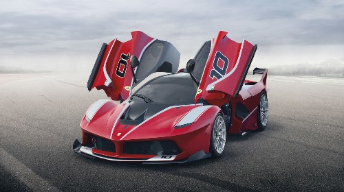 The FXX K is the most extreme Ferrari ever made
