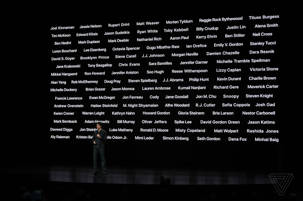 Watch Apple's trailer for its original programming from its 'show time' event