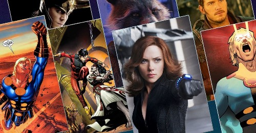 Marvel announces the first release date plans for MCU Phase 4