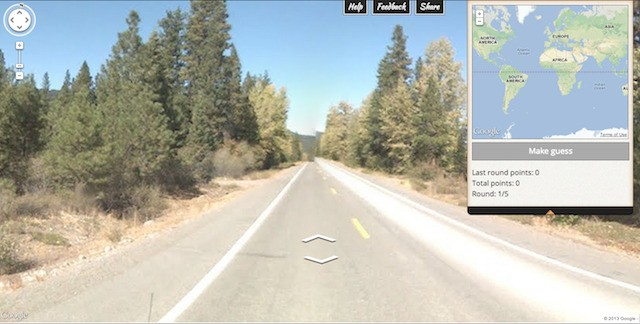 Helplessness, despair, and Street View come together in 'GeoGuessr' Google Maps game