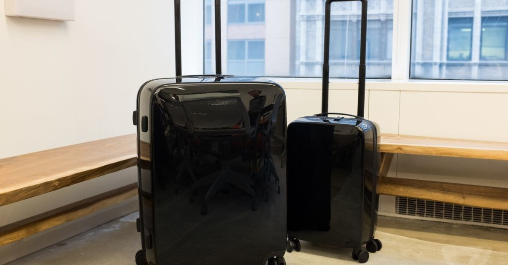 This stylish smart suitcase could solve some big travel hassles
