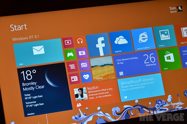 Windows RT 8.1 preview: all the additions you'd expect, but no desktop removal
