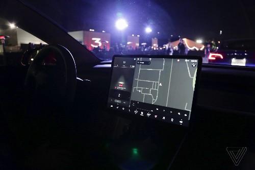 A closer look at Tesla Model 3's spartan interior