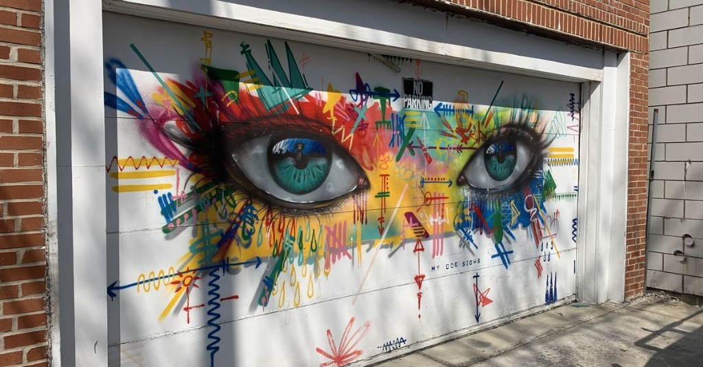 This West Town alley has been transformed into a gallery of murals