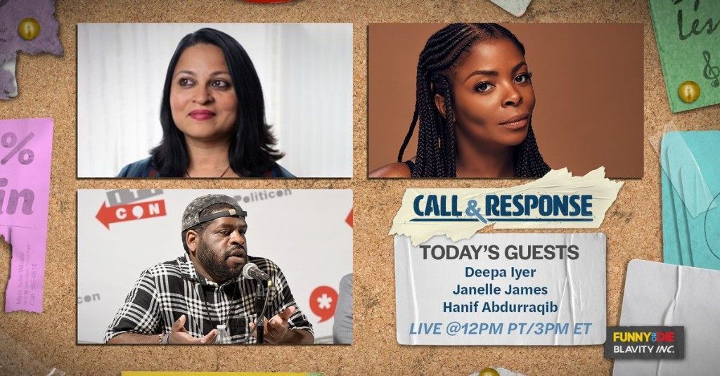 CALL & RESPONSE: Play Your Part & Rolling With The Movement