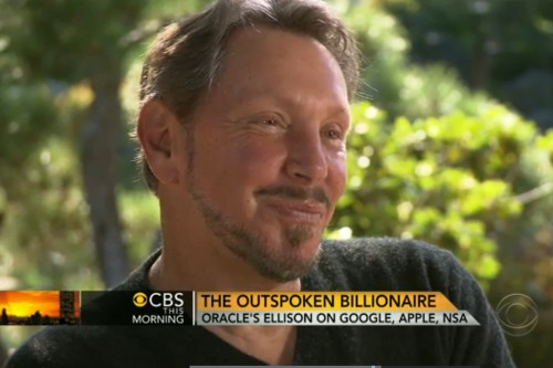 Oracle's Larry Ellison calls Google 'absolutely evil,' says NSA surveillance is 'essential'