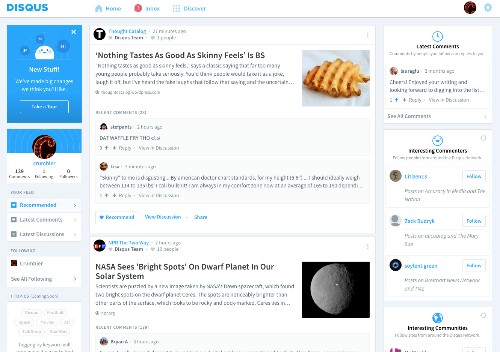 Disqus relaunches to turn your comments into a Reddit-like social network
