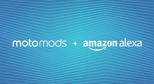 Amazon's Alexa is now also a Moto Mod