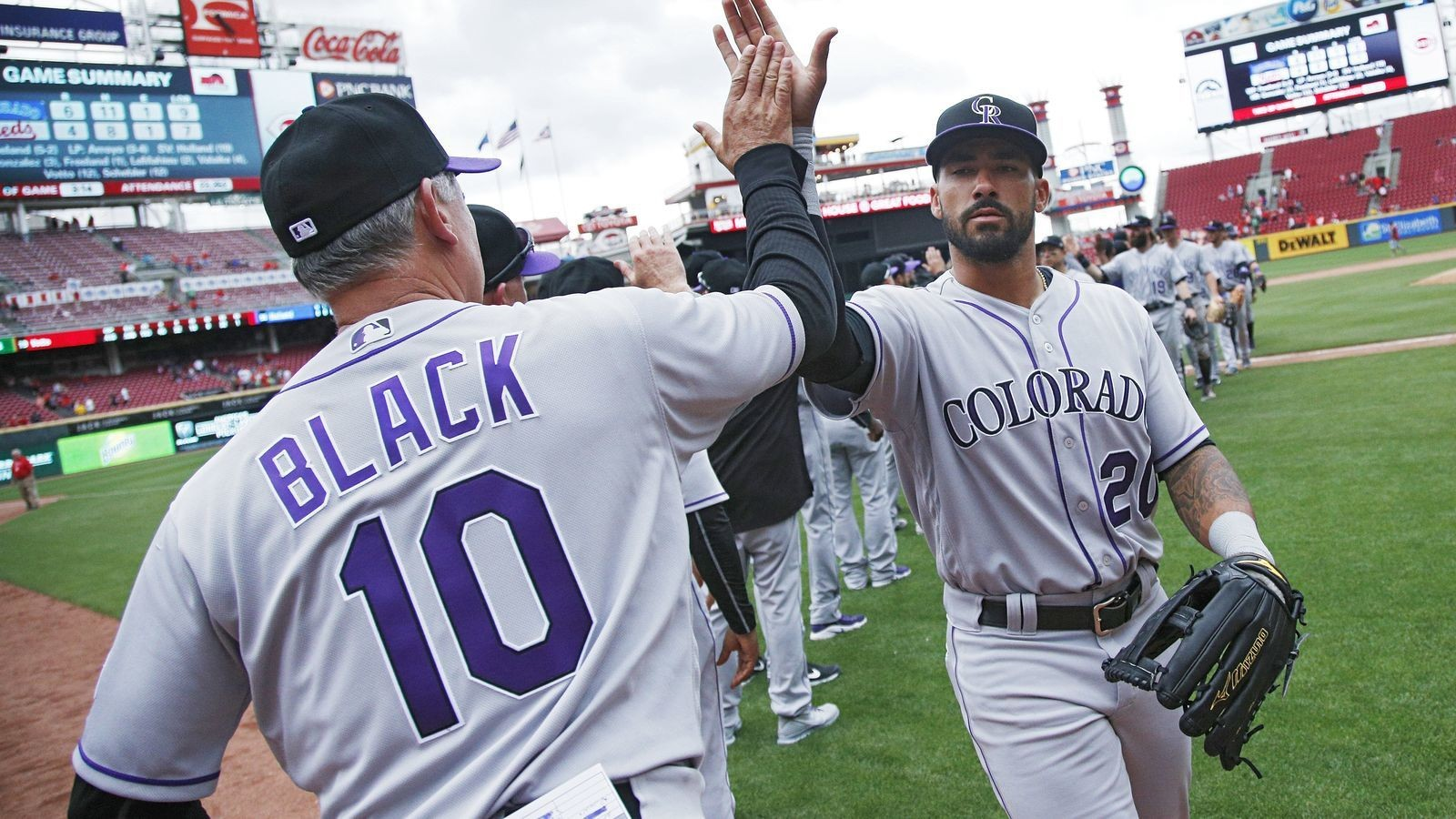 Colorado Rockies have been lucky, and that's great