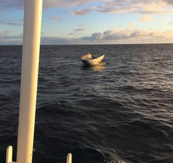 SpaceX tried to catch its rocket's nose cone with a giant net — and just missed