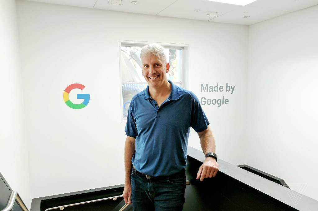 Google's head of hardware is betting big on ambient computing