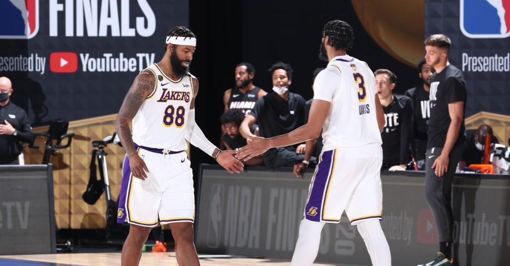 Anthony Davis reportedly wanted the Lakers to re-sign Markieff Morris