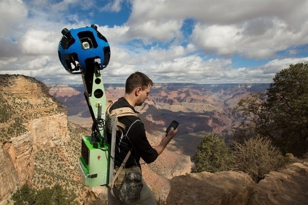 Google invites you to borrow its Trekker Street View backpacks and photograph the world