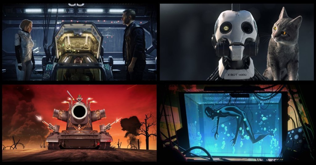 Breaking down Netflix's Love, Death, and Robots by quantities of love, death, and robots