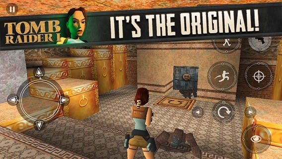Original 'Tomb Raider' launches on iOS for 99 cents