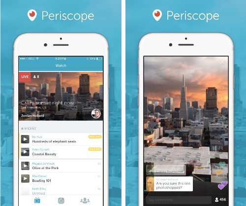 Periscope, Twitter's answer to Meerkat-style live streaming, is now available
