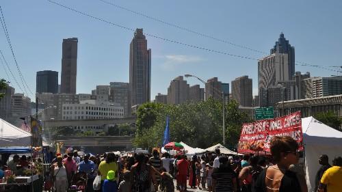 Photos: Sweet Auburn Springfest Draws Crowds Downtown