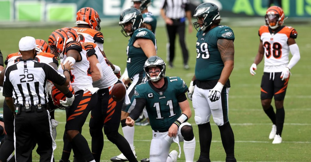 FINAL SCORE: Eagles tie the Bengals, 23 to 23