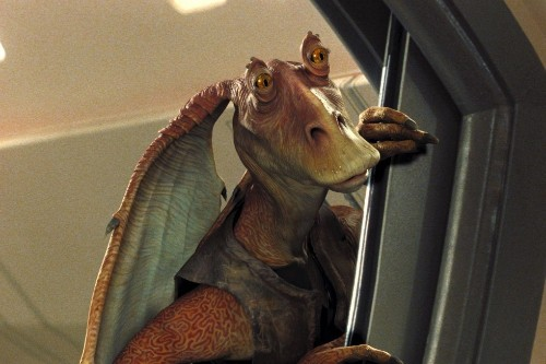 Universally beloved character Jar Jar Binks makes surprise appearance in new video game