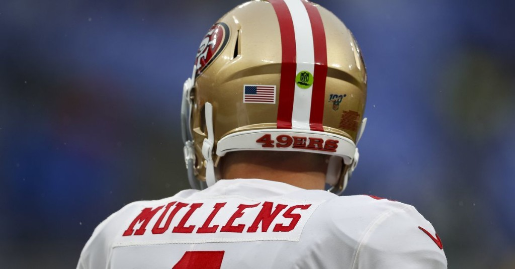 Nick Mullens by the numbers