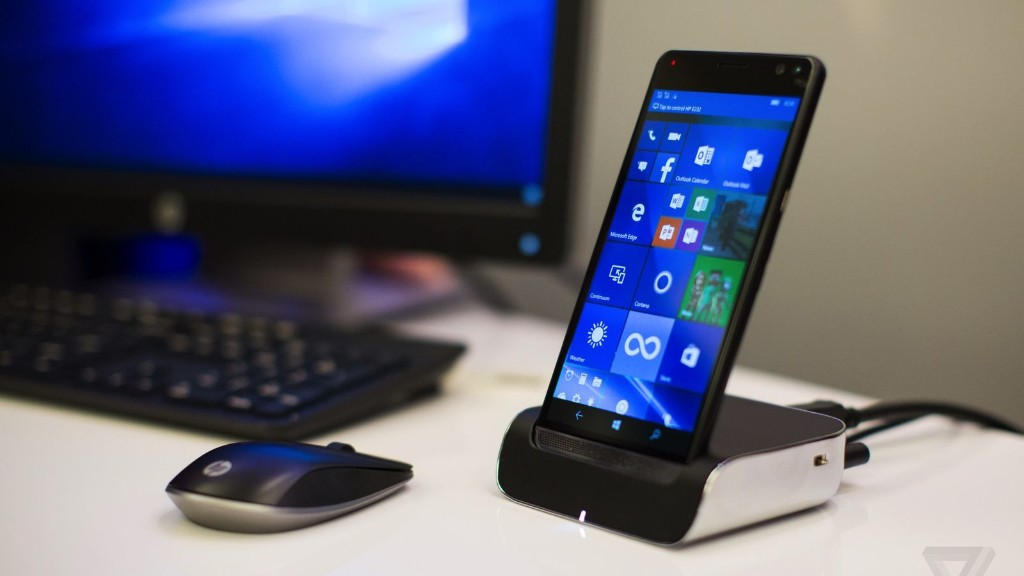 Microsoft Stores are now selling HP's Elite x3 Windows phone