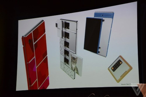 Google turns on its crazy modular phone in public for the first time