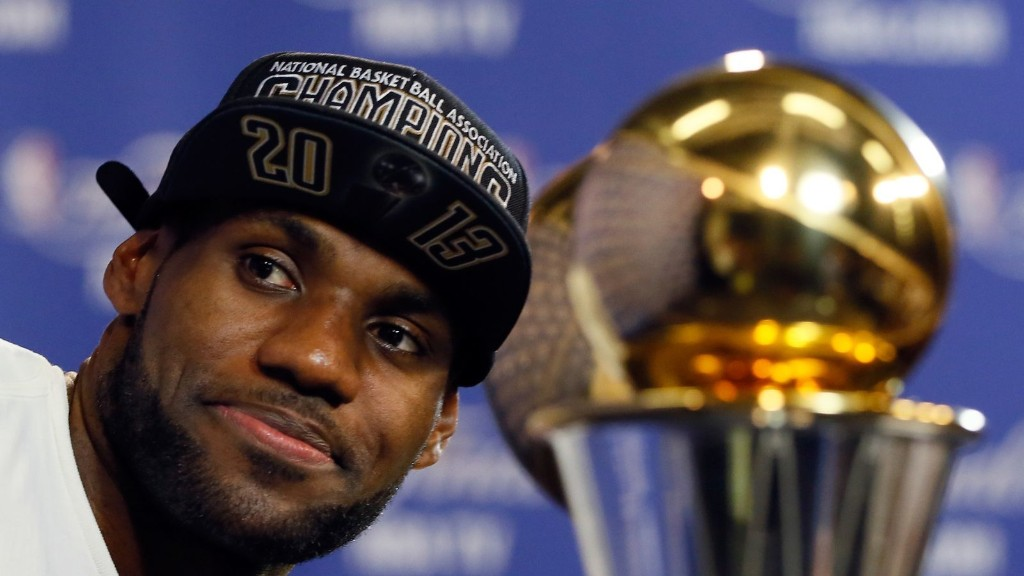 LeBron made the right 'Decision'